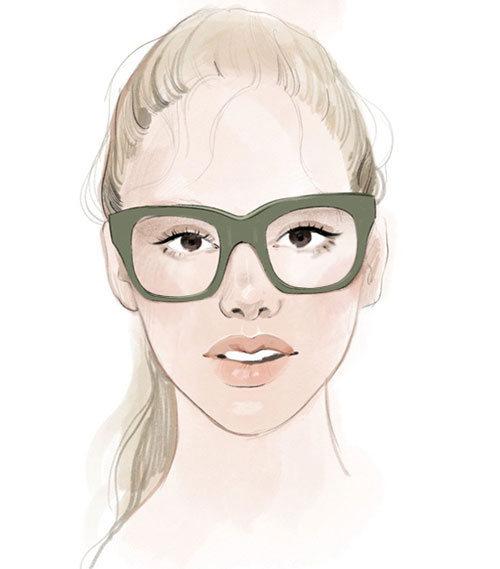 Briller til dråpeformet ansikt