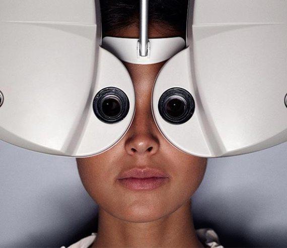 synundersökning för linser