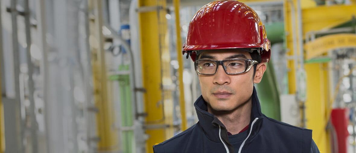 Skyddsglasögon med styrka