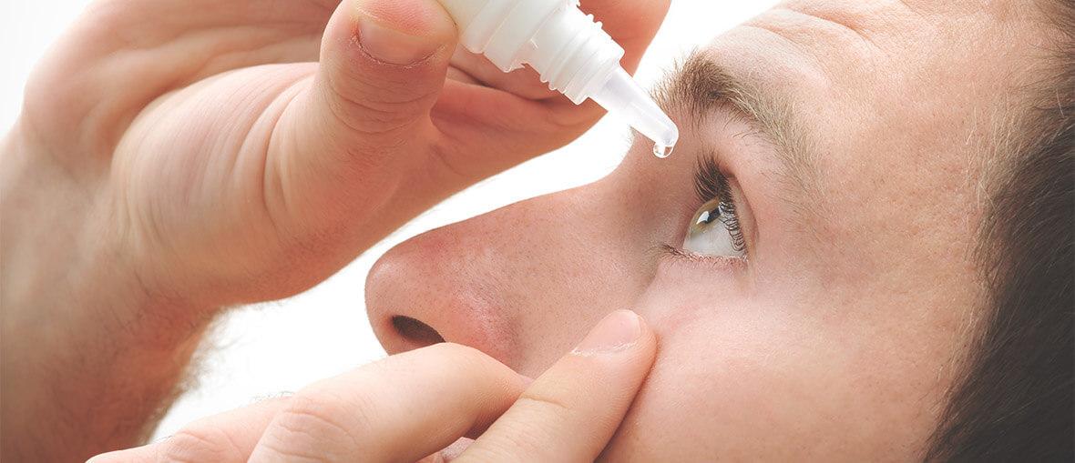 Ögondroppar mot blefarit - ögonlocksinflammation