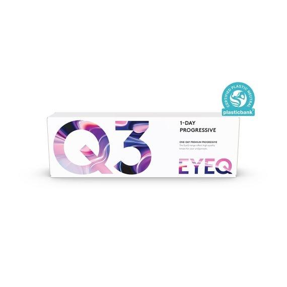 EyeQ One-Day Premium Progressive Q3 30 st/box