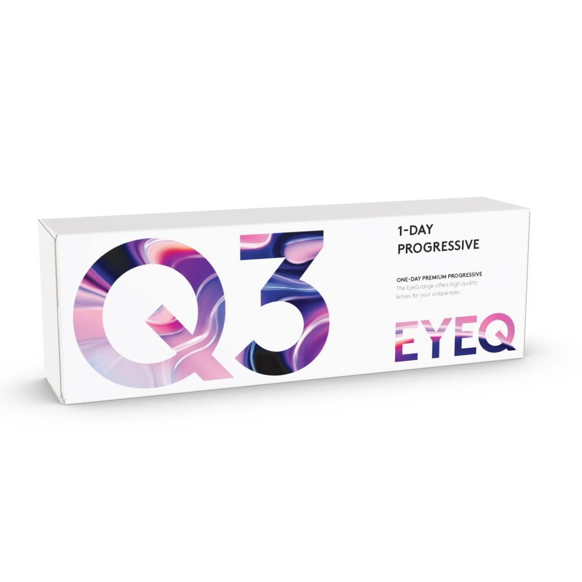EyeQ One-Day Premium Progressive Q3 30 stk/pk