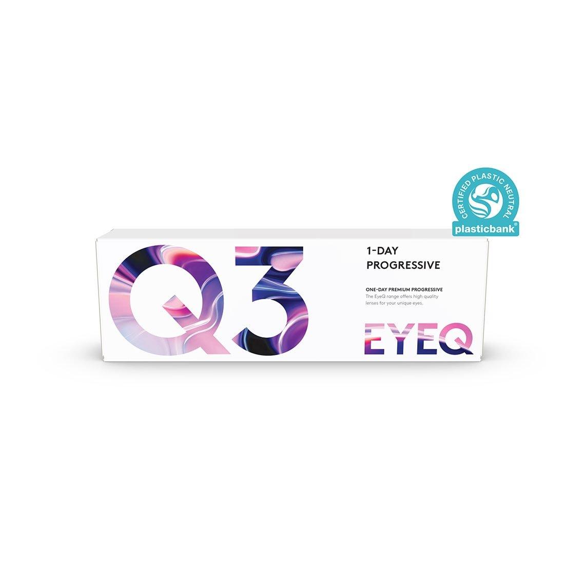 EyeQ One-Day Premium Progressive Q3 30 stk/pk