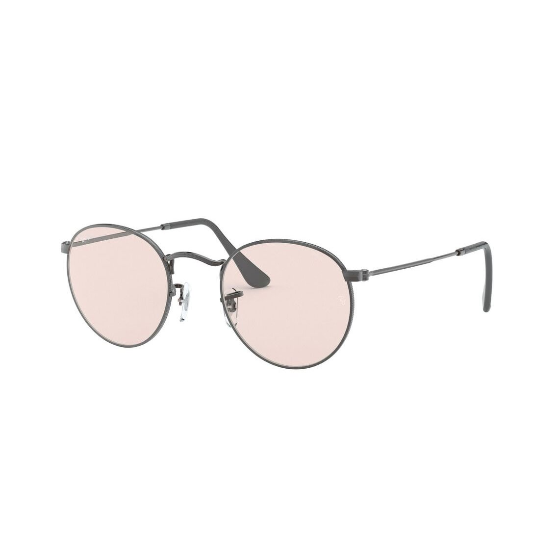 Ray-Ban Round metal RB3447 Solid Evolve 004/T5 5021