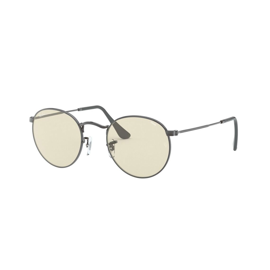Ray-Ban Round metal RB3447 Solid Evolve 004/T2 5321