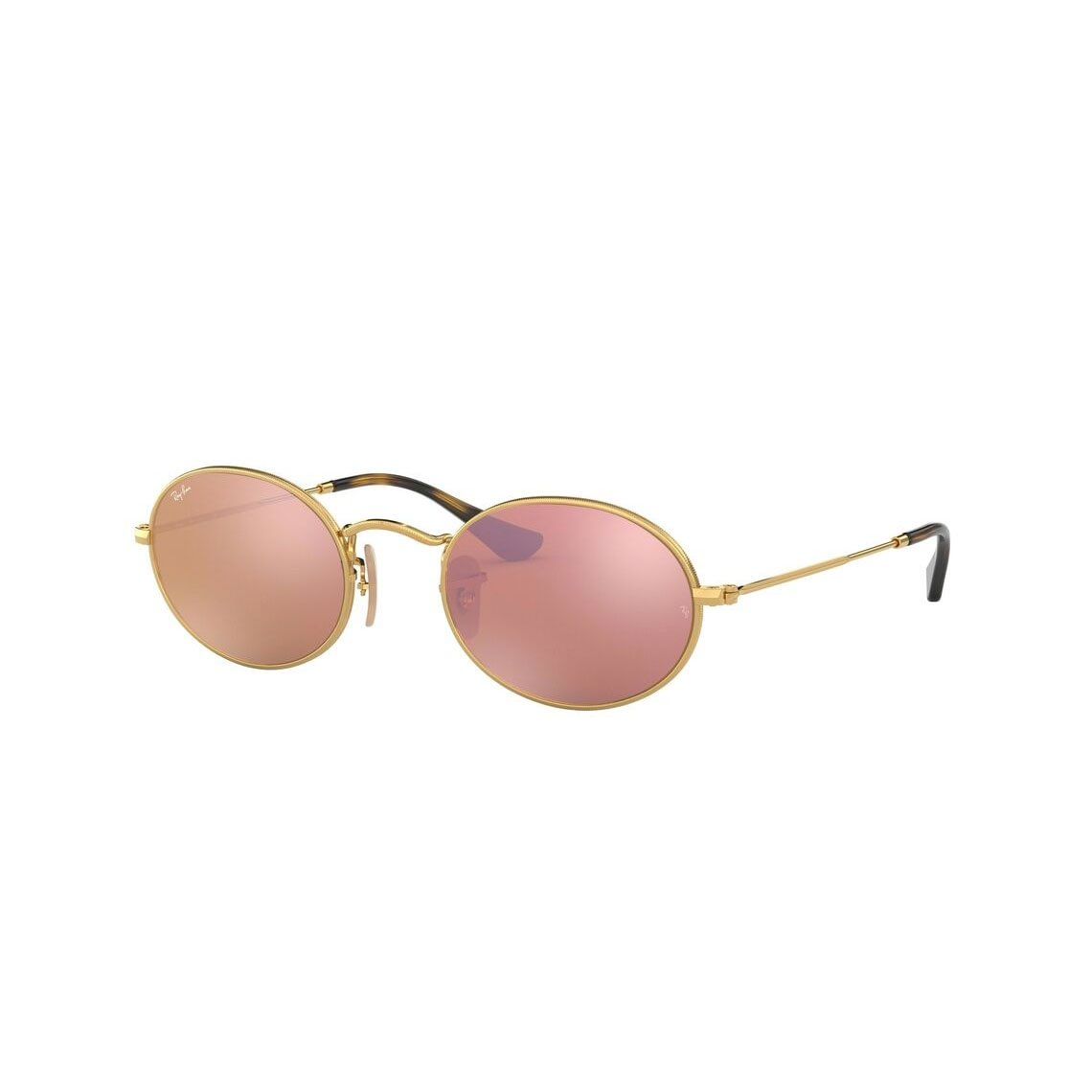 Ray-Ban Oval flat lenses RB3547N 001/Z2 51