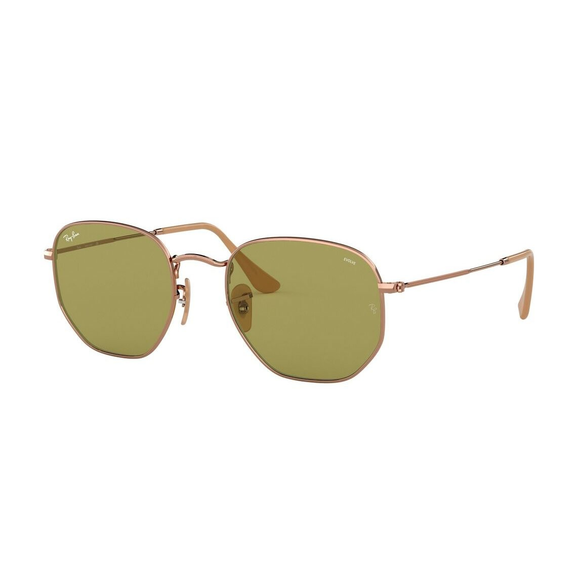 Ray-Ban Hexagonal Washed Evolve RB3548N 91314C 5421