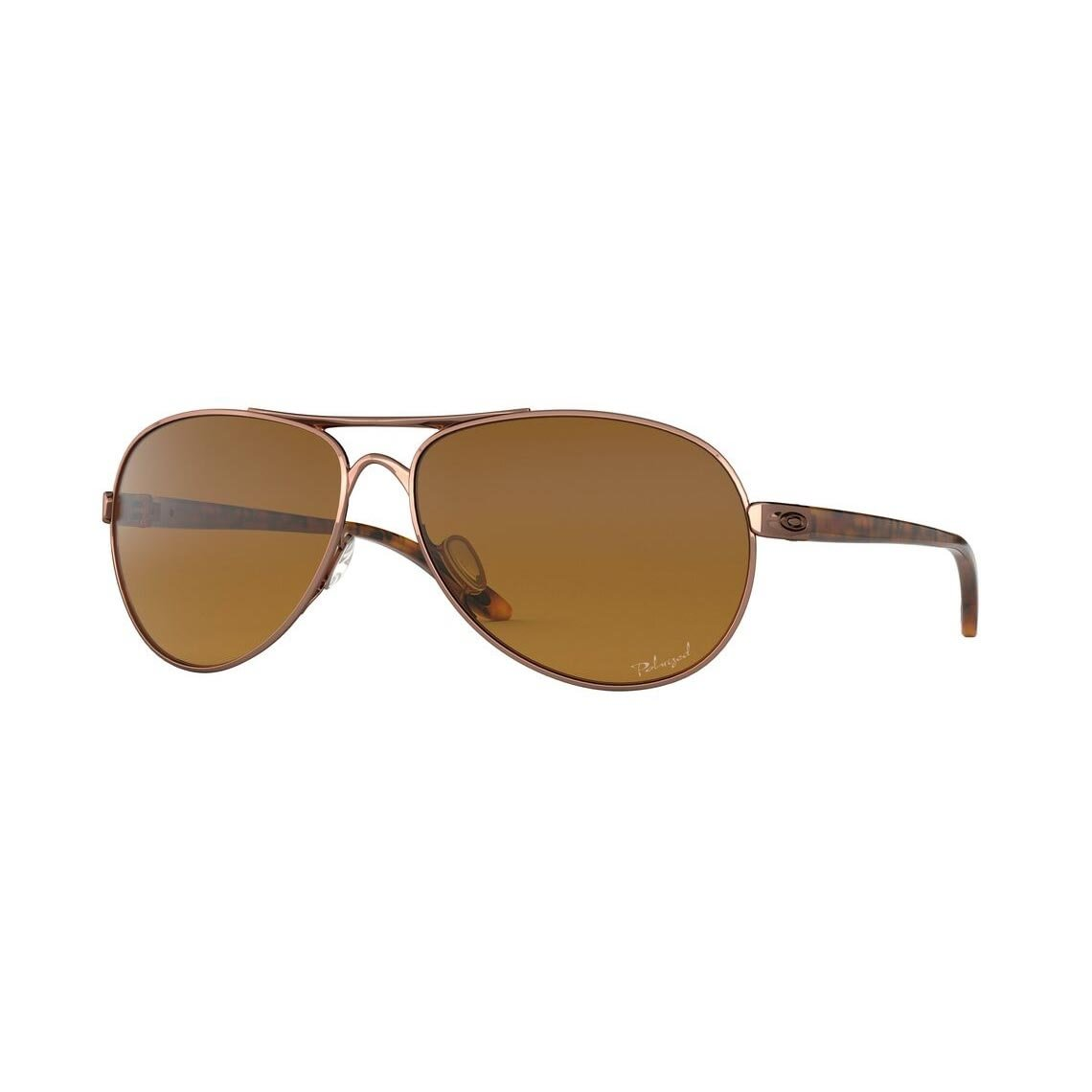 Oakley Feedback Brown Gradient Polarized OO4079-14
