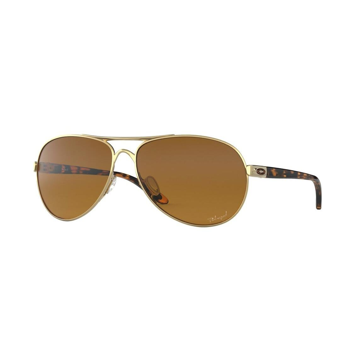 Oakley Feedback Brown Gradient Polarized OO4079-11