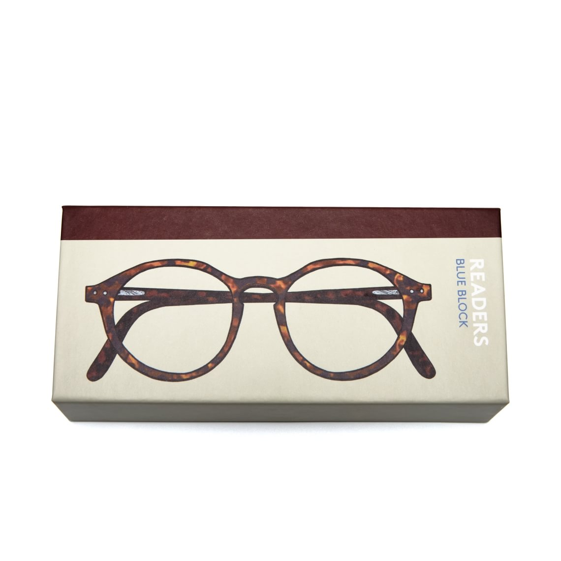 Readers Readers Mini Blue Block Round Tortoise