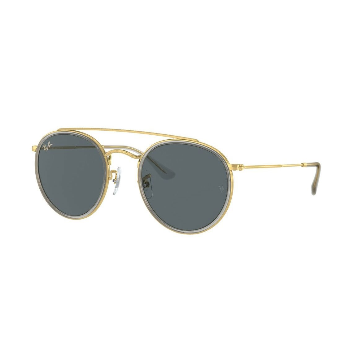 Ray-Ban Round Double Bridge Legend Gold RB3647N 9210R5 5122